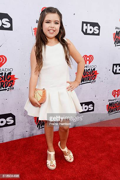 Actress Sophia Grace Brownlee attends the iHeartRadio Music Awards at The Forum on April 3 2016 in Inglewood California