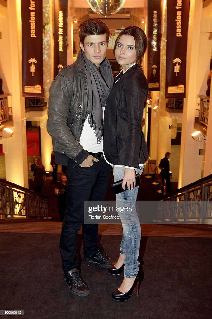 Actress Sophia Thomalla and Eugen Bauder attend the afterparty of the Michalsky Style Night at Friedrichstadtpalast on January 22, 2010 in Berlin, Germany.