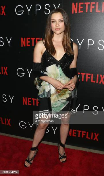 Actress Sophie Cookson attends the special screening of 'Gypsy' hosted by Netflix at Public Arts at Public on June 29 2017 in New York City