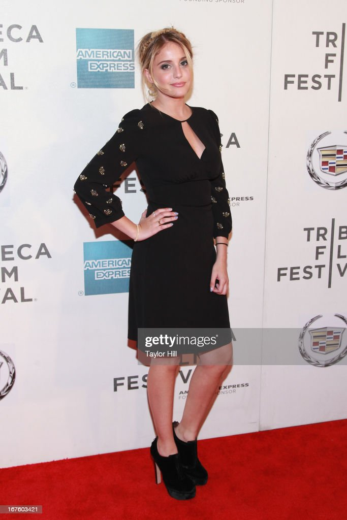 Actress Sophie Curtis ttends the screening of 'The English Teacher' during the 2013 Tribeca Film Festival at BMCC Tribeca PAC on April 26, 2013 in New York City.