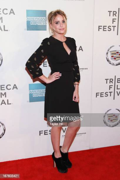 Actress Sophie Curtis ttends the screening of 'The English Teacher' during the 2013 Tribeca Film Festival at BMCC Tribeca PAC on April 26 2013 in New...
