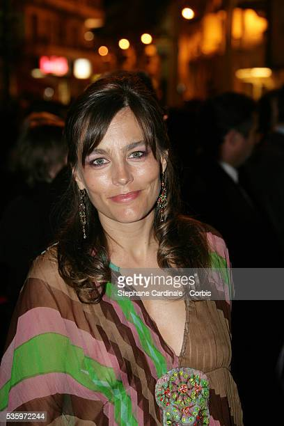 Actress Sophie Duez attends the closing ceremony dinner during the 58th Cannes Film Festival