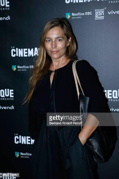 Actress Sophie Duez attends the 'Un beau soleil interieur' Paris Premiere at La Cinematheque on September 25 2017 in Paris France