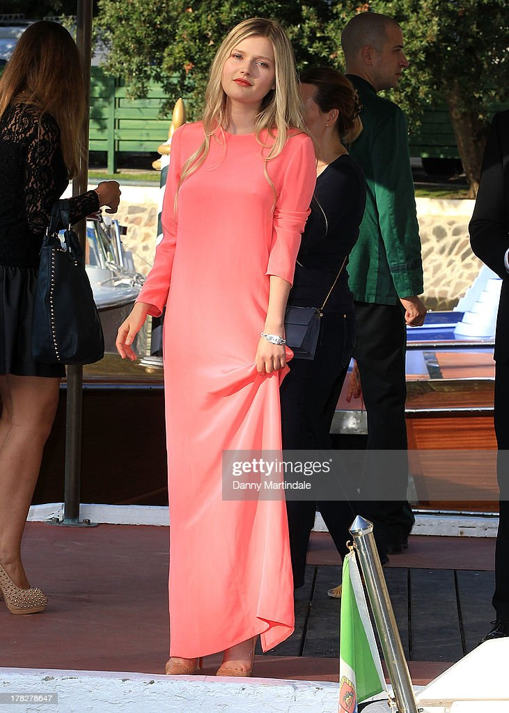 Actress Sophie Kennedy Clark attends day 1 of the 70th Venice International Film Festival on August 28, 2013 in Venice, Italy.