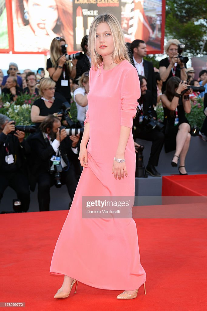 Actress Sophie Kennedy Clark attends 'Gravity' premiere and Opening Ceremony during The 70th Venice International Film Festival at Sala Grande on August 28, 2013 in Venice, Italy.