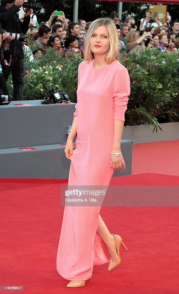 Actress Sophie Kennedy Clark attends 'Gravity' Premiere and Opening Ceremony during the 70th Venice International Film Festival at the Palazzo del Cinema on August 28, 2013 in Venice, Italy.