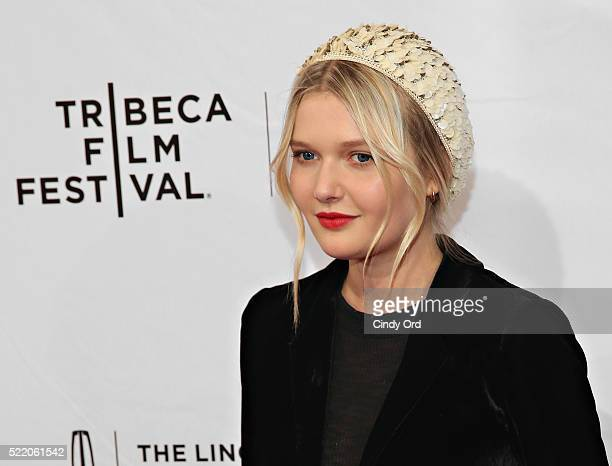 Actress Sophie Kennedy Clark attends 'The Phenom' Premiere during the 2016 Tribeca Film Festival at SVA Theatre 1 on April 17 2016 in New York City