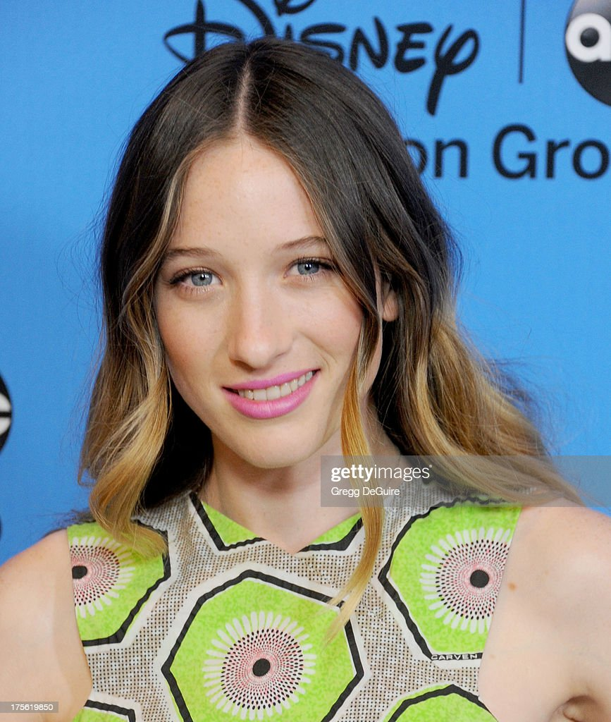 Actress <a gi-track='captionPersonalityLinkClicked' href=/galleries/search?phrase=Sophie+Lowe&family=editorial&specificpeople=5921117 ng-click='$event.stopPropagation()'>Sophie Lowe</a> arrives at the 2013 Disney/ABC Television Critics Association's summer press tour party at The Beverly Hilton Hotel on August 4, 2013 in Beverly Hills, California.