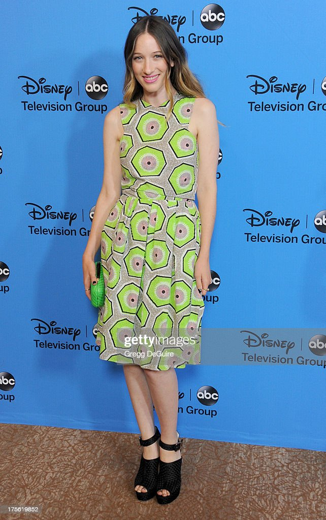 Actress Sophie Lowe arrives at the 2013 Disney/ABC Television Critics Association's summer press tour party at The Beverly Hilton Hotel on August 4, 2013 in Beverly Hills, California.