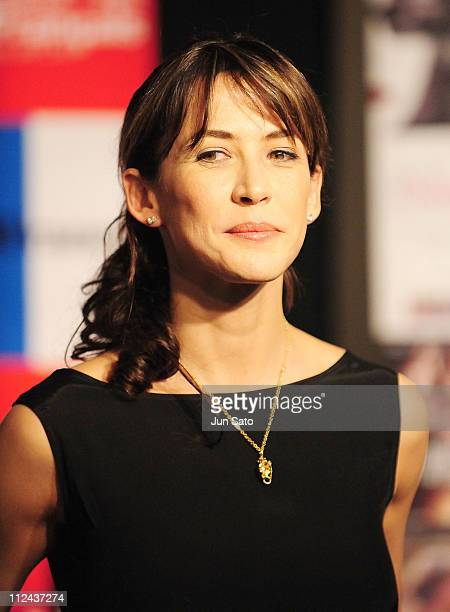 Actress Sophie Marceau attends the opening ceremony of the France Film Festival 2008 at Roppongi Hills on March 13 2008 in Tokyo Japan