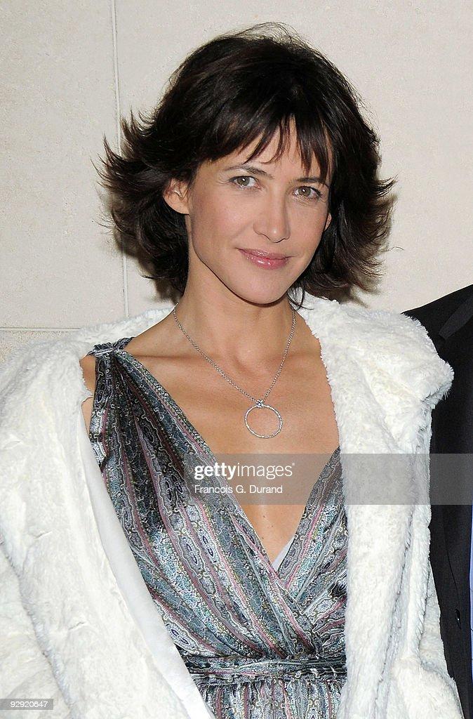 Actress Sophie Marceau attends the premiere of 'L'Homme de chevet' at Cinematheque Francaise on November 9, 2009 in Paris, France.