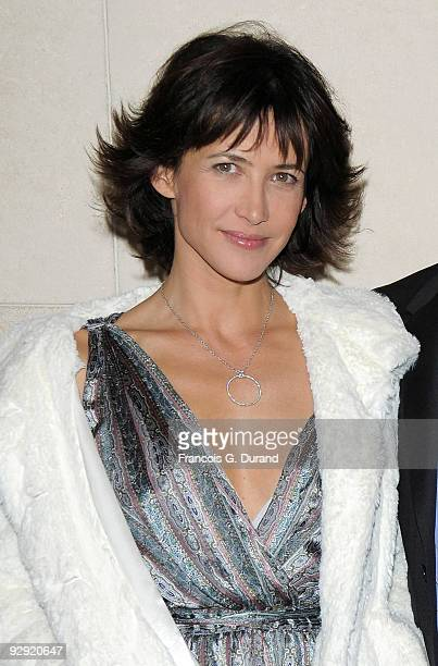 Actress Sophie Marceau attends the premiere of 'L'Homme de chevet' at Cinematheque Francaise on November 9 2009 in Paris France