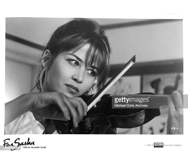 Actress Sophie Marceau in a scene from the movie 'For Sasha' circa 1991