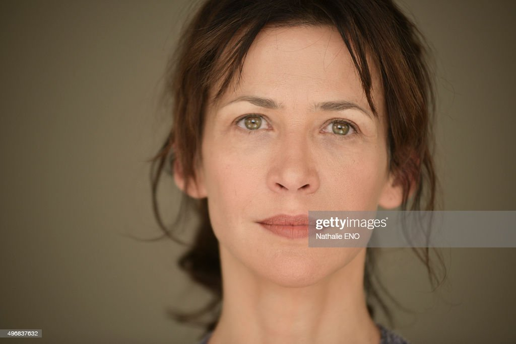 Actress <a gi-track='captionPersonalityLinkClicked' href=/galleries/search?phrase=Sophie+Marceau&family=editorial&specificpeople=220531 ng-click='$event.stopPropagation()'>Sophie Marceau</a> is photographed filming ARTE 'Une histoire d'ame' for Self Assignment on October 23, 2015 in Paris, France.