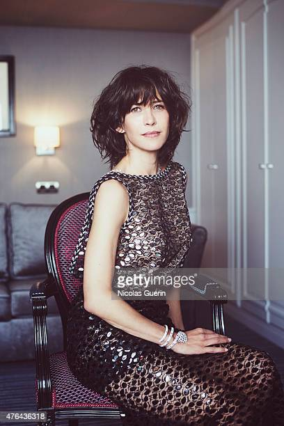 Actress Sophie Marceau is photographed for Self Assignment on May 15 2015 in Cannes France