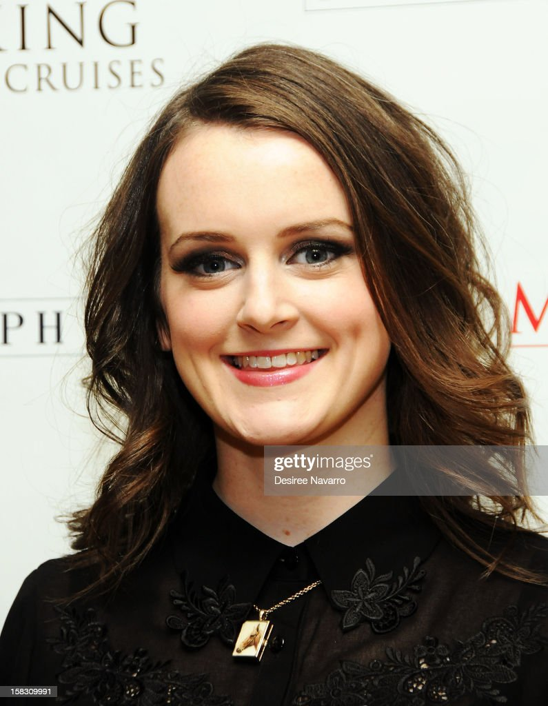 Actress Sophie McShera attends the 'Downton Abbey' Season 3 Photo Call at the Essex House on December 12, 2012 in New York City.