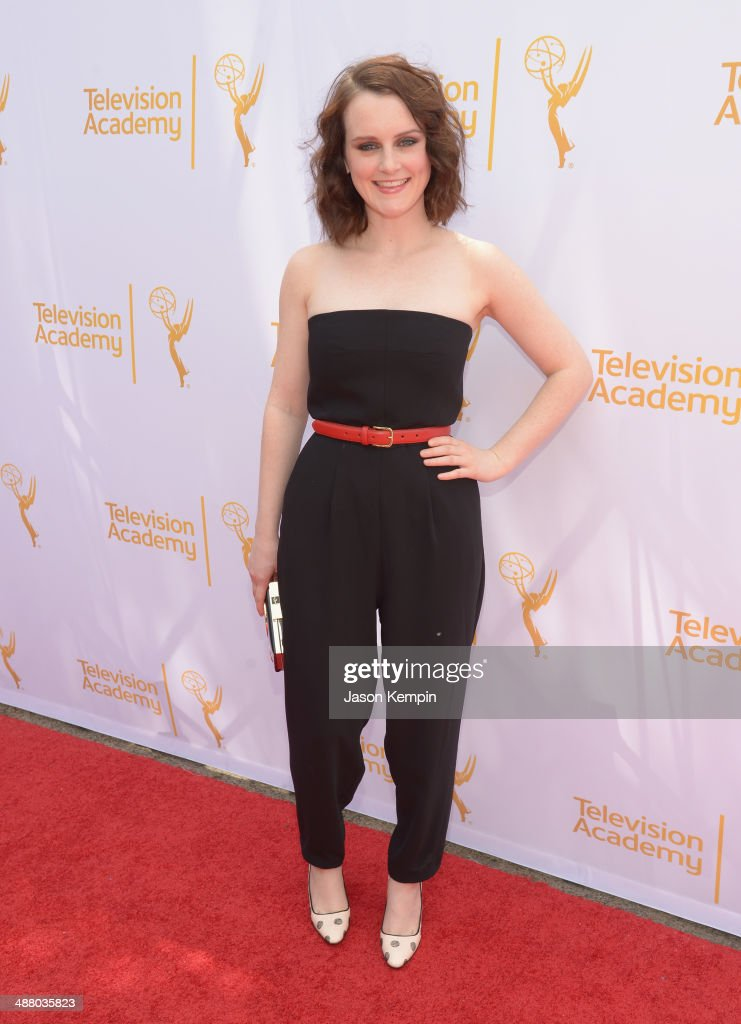 Actress <a gi-track='captionPersonalityLinkClicked' href=/galleries/search?phrase=Sophie+McShera&family=editorial&specificpeople=7829938 ng-click='$event.stopPropagation()'>Sophie McShera</a> attends The Television Academy Presents An Afternoon with 'Downton Abbey' at Paramount Studios on May 3, 2014 in Hollywood, California.