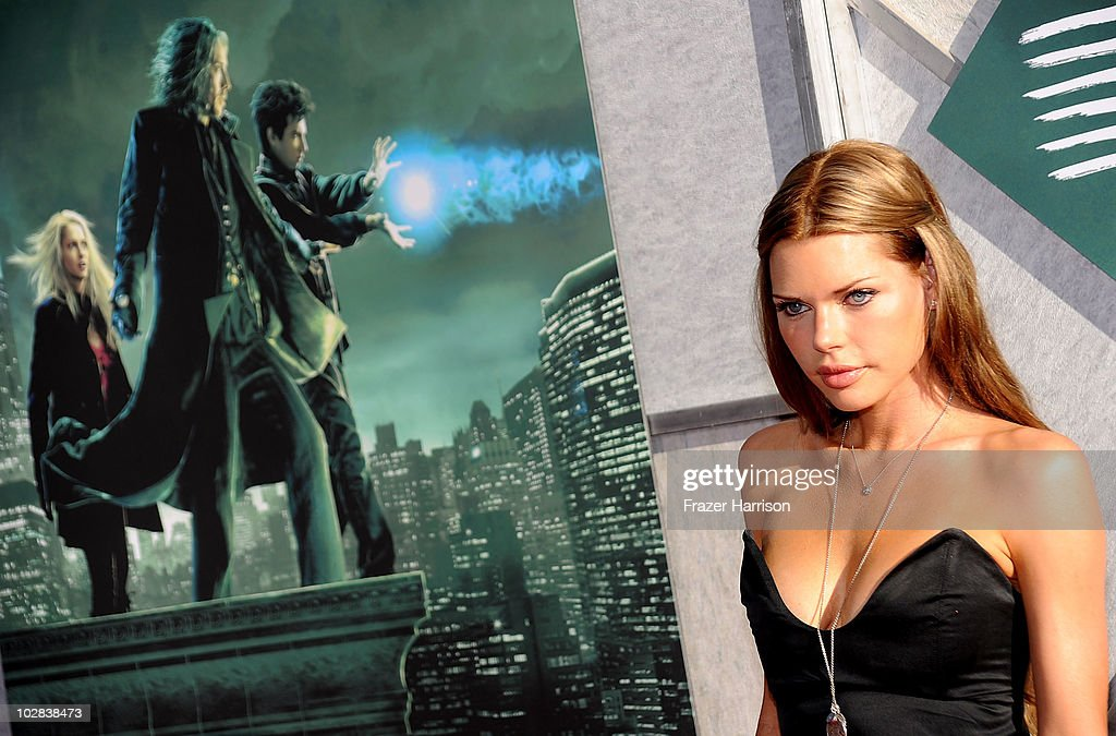 Actress Sophie Monk arrives at the Creative Visions Foundation's Screening Of 'The Sorcerer's Apprentice' at Walt Disney Studios on July 12 2010 in...
