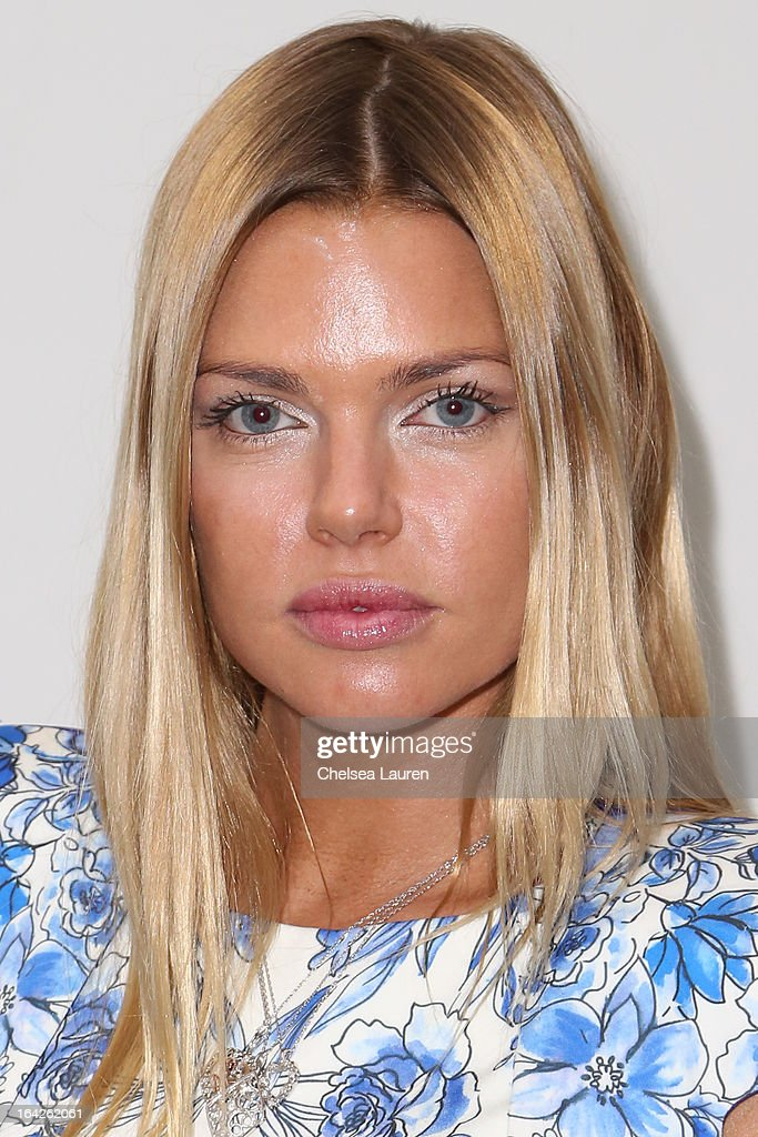 Actress Sophie Monk arrives at the 'Dorfman in Love' premiere at Downtown Independent Theatre on March 21, 2013 in Los Angeles, California.