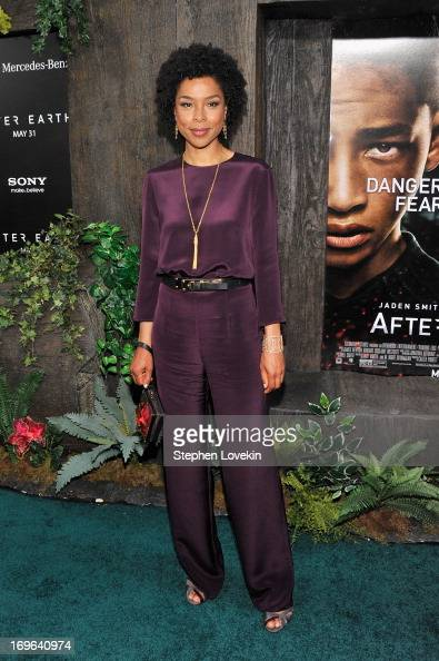 Actress Sophie Okonedo attends the 'After Earth' premiere at Ziegfeld Theater on May 29 2013 in New York City