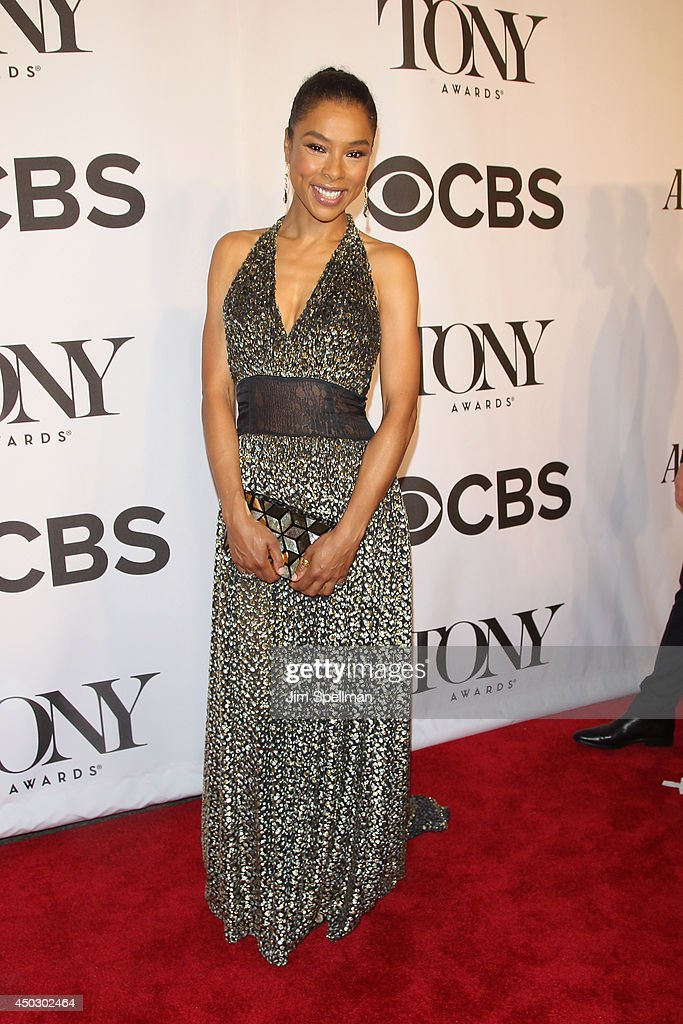 Actress Sophie Okonedo attends the American Theatre Wing's 68th Annual Tony Awards at Radio City Music Hall on June 8, 2014 in New York City.