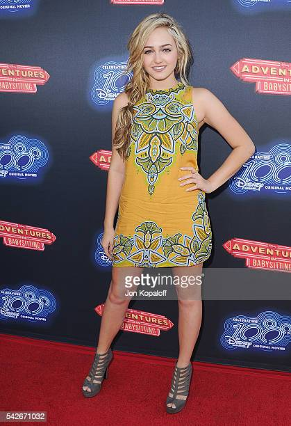 Actress Sophie Reynolds arrives at the Premiere Of 100th Disney Channel Original Movie 'Adventures In Babysitting' And Celebration Of All DCOMS at...