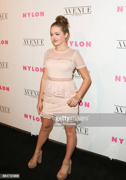 Actress Sophie Reynolds attends NYLON's annual Young Hollywood May issue event with cover Star Rowan Blanchard at Avenue on May 2 2017 in Los Angeles...