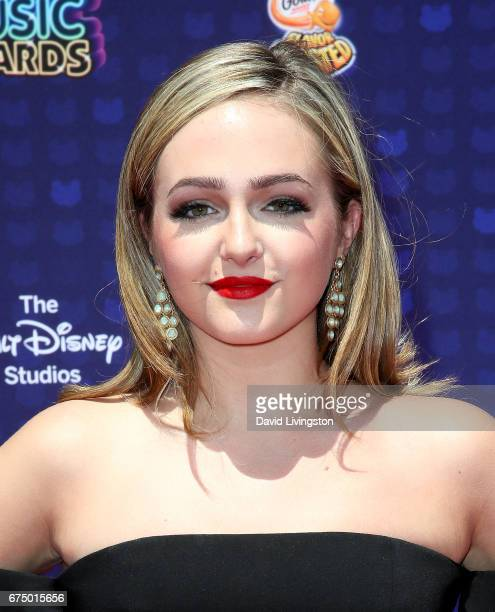 Actress Sophie Reynolds attends the 2017 Radio Disney Music Awards at Microsoft Theater on April 29 2017 in Los Angeles California