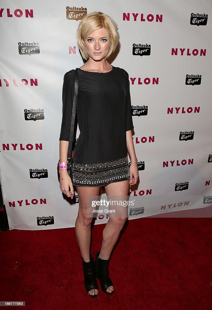 Actress Sophie Sumner attends the NYLON Magazine Annual May Young Hollywood Issue Party at The Roosevelt Hotel on May 14, 2013 in Hollywood, California.