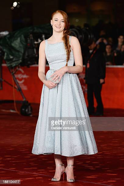 Actress Sophie Turner attends 'Another Me' Premiere during The 8th Rome Film Festival on November 15 2013 in Rome Italy