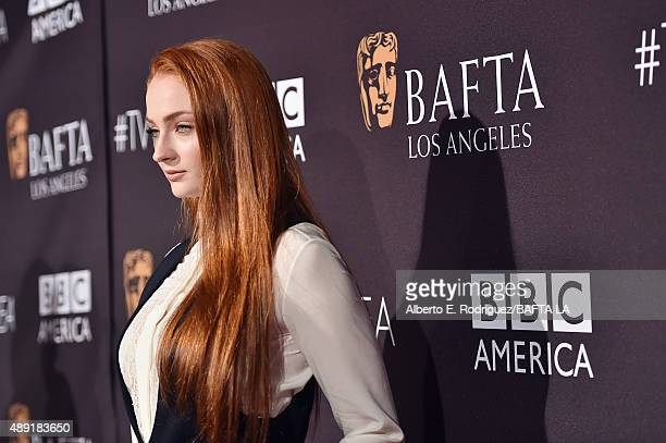 Actress Sophie Turner attends the 2015 BAFTA Los Angeles TV Tea at SLS Hotel on September 19 2015 in Beverly Hills California