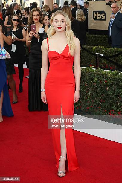 Actress Sophie Turner attends the 23rd Annual Screen Actors Guild Awards at The Shrine Expo Hall on January 29 2017 in Los Angeles California