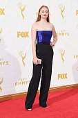 Actress Sophie Turner attends the 67th Annual Primetime Emmy Awards at Microsoft Theater on September 20 2015 in Los Angeles California