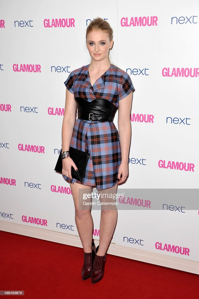 Actress <a gi-track='captionPersonalityLinkClicked' href=/galleries/search?phrase=Sophie+Turner+-+Actress&family=editorial&specificpeople=11657140 ng-click='$event.stopPropagation()'>Sophie Turner</a> attends the Glamour Women of the Year Awards at Berkeley Square Gardens on June 3, 2014 in London, England.
