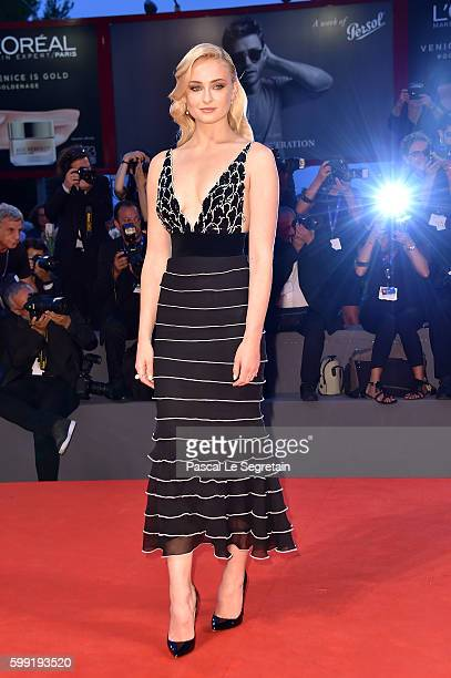 Actress Sophie Turner attends the Kineo Diamanti Award Ceremony during the 73rd Venice Film Festival on September 4 2016 in Venice Italy
