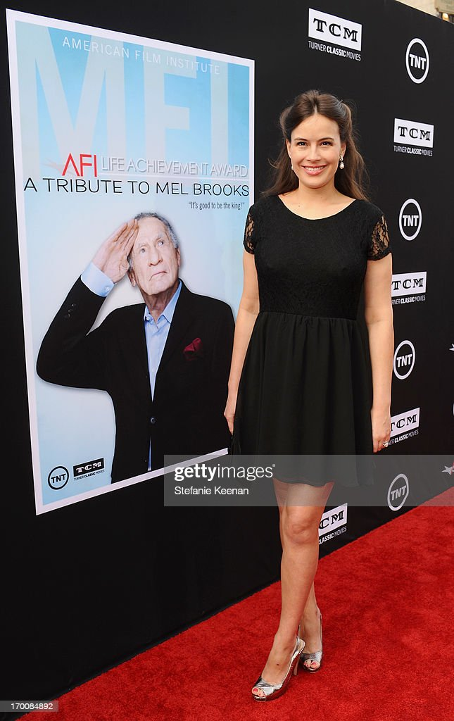 Actress <a gi-track='captionPersonalityLinkClicked' href=/galleries/search?phrase=Sophie+Winkleman&family=editorial&specificpeople=716102 ng-click='$event.stopPropagation()'>Sophie Winkleman</a> attends AFI's 41st Life Achievement Award Tribute to Mel Brooks at Dolby Theatre on June 6, 2013 in Hollywood, California. 23647_003_SK_0811.JPG