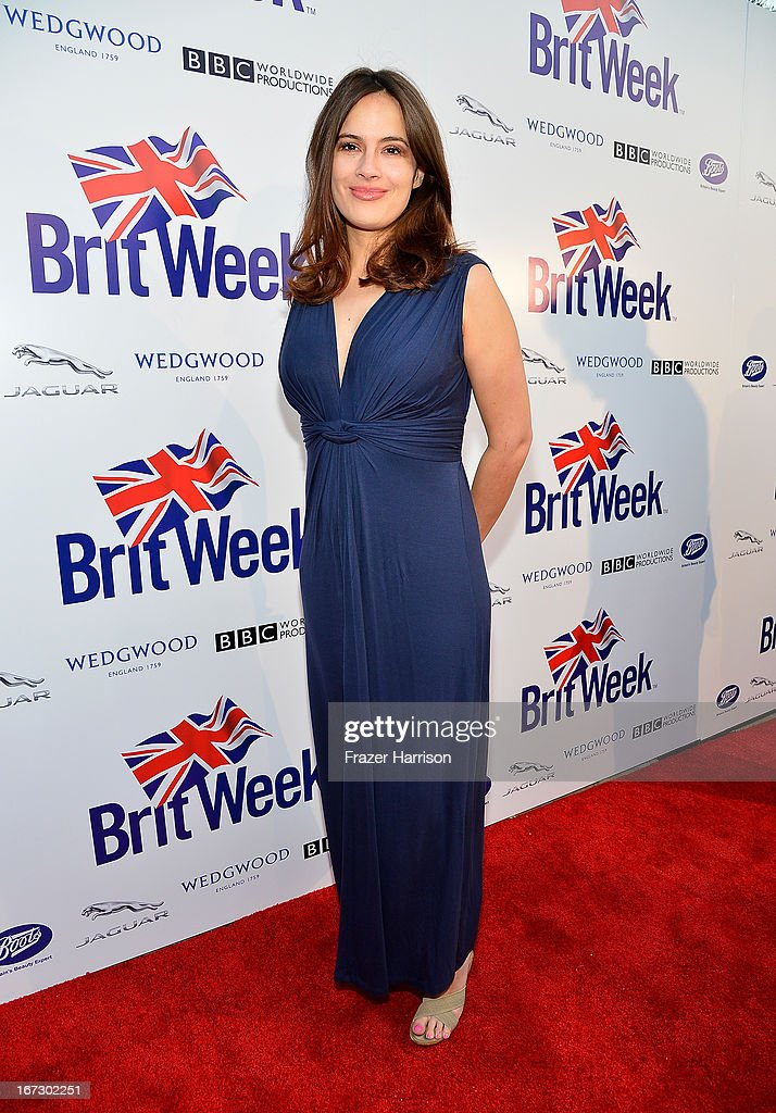 Actress Sophie Winkleman attends the launch of the Seventh Annual BritWeek Festival 'A Salute To Old Hollywood' on April 23, 2013 in Los Angeles, California.