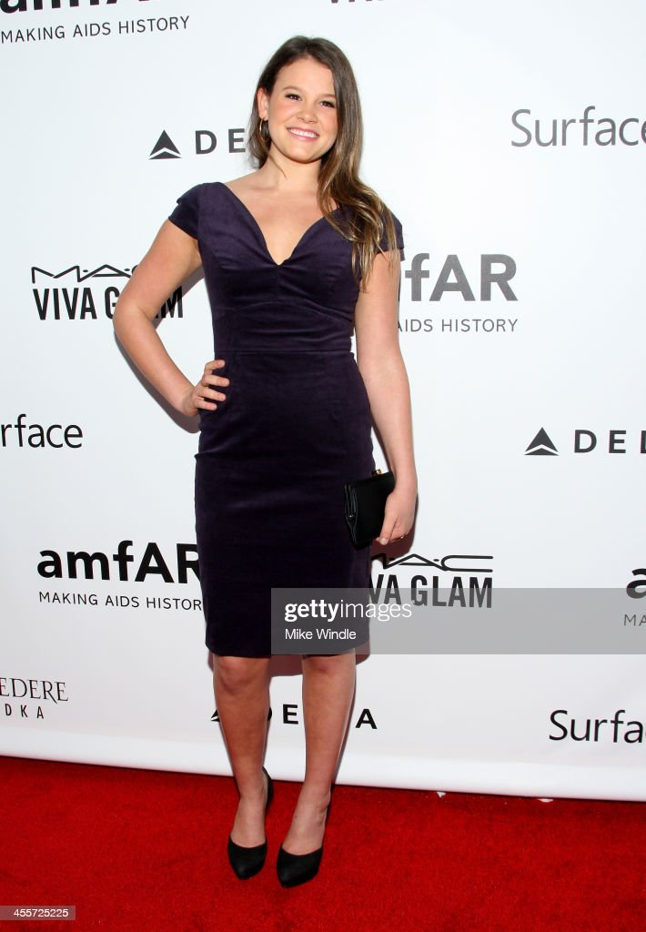 Actress Sosie Bacon attends the 2013 amfAR Inspiration Gala Los Angeles at Milk Studios on December 12, 2013 in Los Angeles, California.