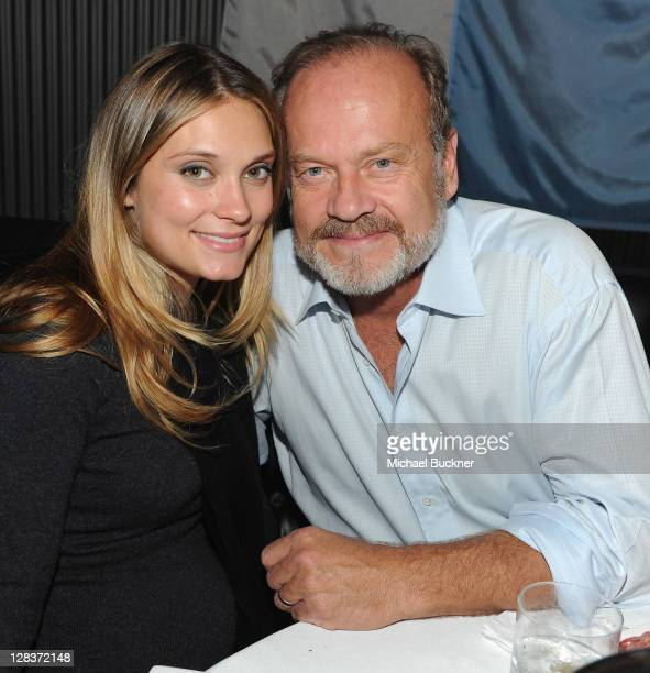 Actress Spencer Grammer and actor Kelsey Grammer attend the after party for the STARZ Los Angeles Premiere Event for Original Series 'Boss' Starring...