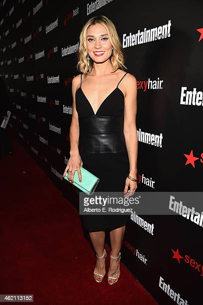 Actress Spencer Grammer attends Entertainment Weekly's celebration honoring the 2015 SAG awards nominees at Chateau Marmont on January 24 2015 in Los...