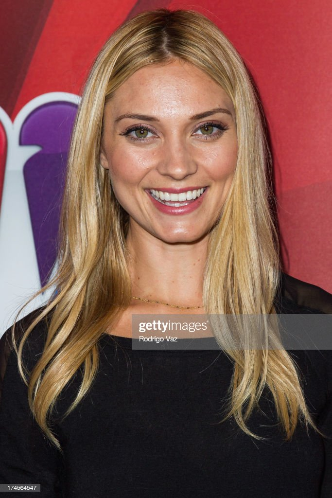 Actress <a gi-track='captionPersonalityLinkClicked' href=/galleries/search?phrase=Spencer+Grammer&family=editorial&specificpeople=3214329 ng-click='$event.stopPropagation()'>Spencer Grammer</a> attends the 2013 Television Critic Association's Summer Press Tour - NBC Party at The Beverly Hilton Hotel on July 27, 2013 in Beverly Hills, California.