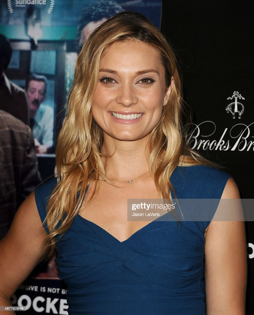 Actress Spencer Grammer attends the premiere of 'God's Pocket' at LACMA on May 1, 2014 in Los Angeles, California.