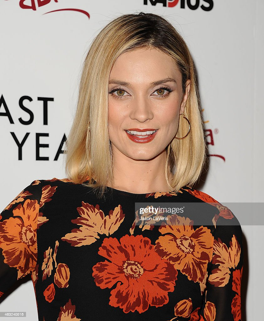 Actress Spencer Grammer attends the premiere of 'The Last Five Years' at ArcLight Hollywood on February 11, 2015 in Hollywood, California.