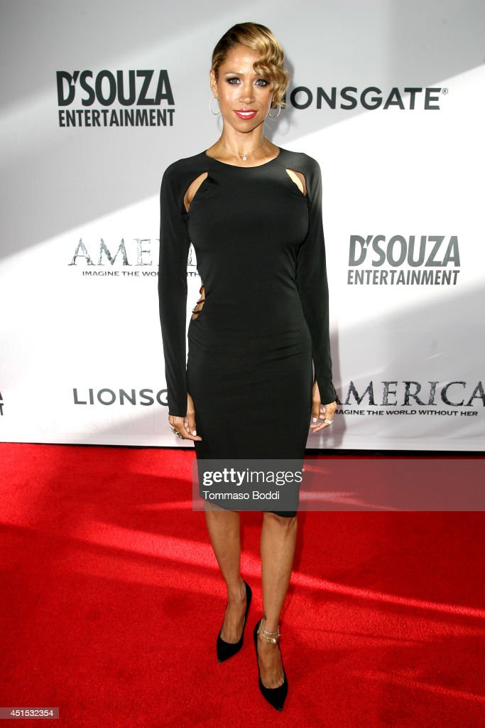 Actress <a gi-track='captionPersonalityLinkClicked' href=/galleries/search?phrase=Stacey+Dash&family=editorial&specificpeople=628527 ng-click='$event.stopPropagation()'>Stacey Dash</a> attends the 'America' Los Angeles premiere held at the Regal Cinemas L.A. Live on June 30, 2014 in Los Angeles, California.