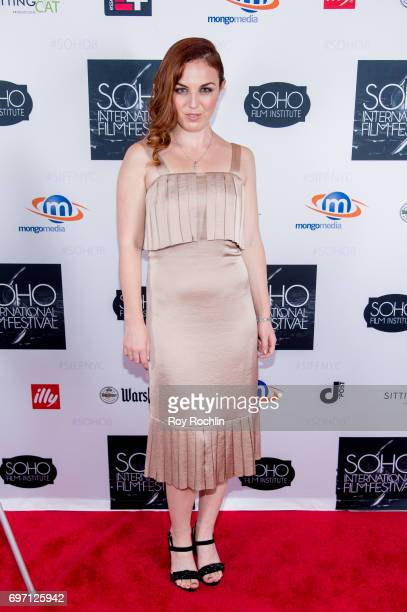 Actress Stacey Maltin attneds the 2017 Soho Film Festival 'Landing Up' New York premiere at Village East Cinema on June 17 2017 in New York City