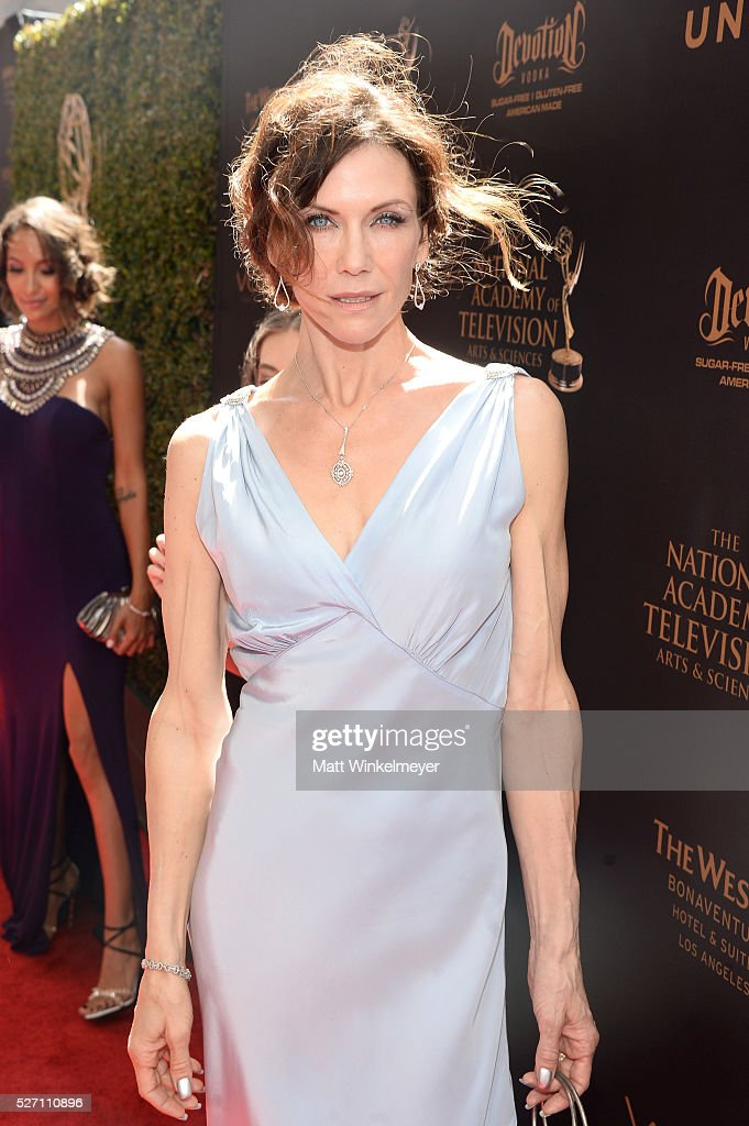 Actress <a gi-track='captionPersonalityLinkClicked' href=/galleries/search?phrase=Stacy+Haiduk&family=editorial&specificpeople=6215370 ng-click='$event.stopPropagation()'>Stacy Haiduk</a> arrives at the 43rd Annual Daytime Emmy Awards at the Westin Bonaventure Hotel on May 1, 2016 in Los Angeles, California.