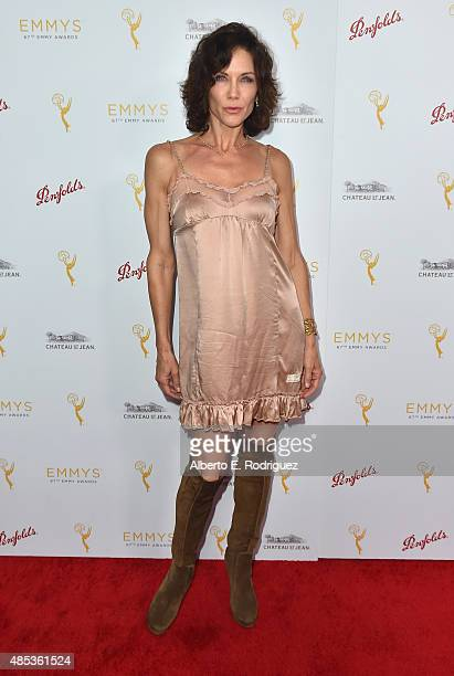 Actress Stacy Haiduk attends a cocktail reception hosted by the Academy of Television Arts Sciences celebrating the Daytime Peer Group at Montage...