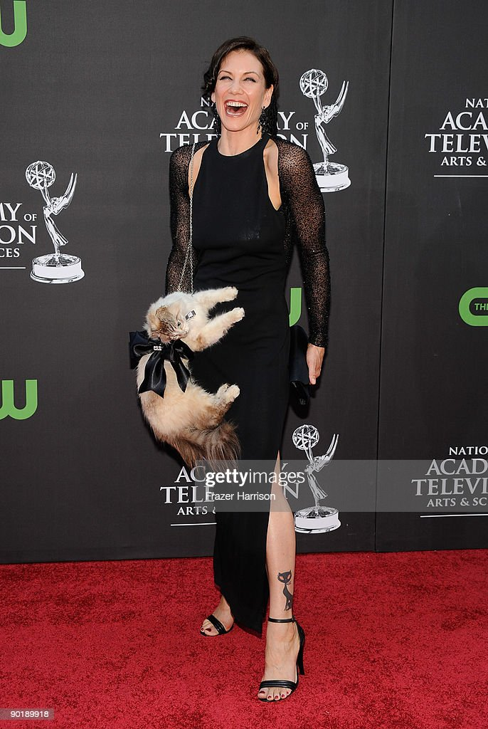 Actress Stacy Haiduk attends the 36th Annual Daytime Emmy Awards at The Orpheum Theatre on August 30, 2009 in Los Angeles, California.