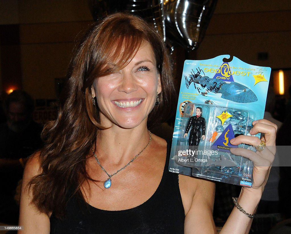 Actress Stacy Haiduk participates in The Hollywood Show held at Burbank Airport Marriott Hotel & Convention Center on August 5, 2012 in Burbank, California.