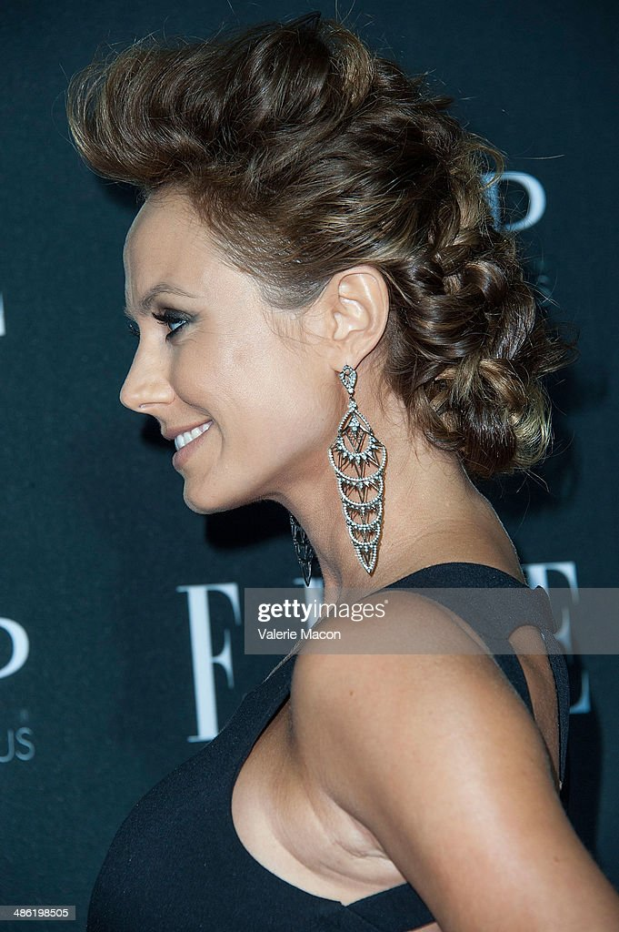 Actress Stacy Keibler arrives at ELLE's 5th Annual Women In Music Concert Celebration Presented by CUSP By Neiman Marcus at Avalon on April 22, 2014 in Hollywood, California.